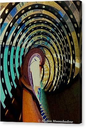 Mother Goose Canvas Print by AlyZen Moonshadow