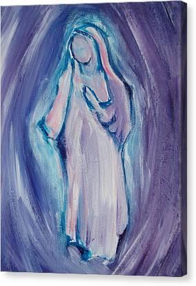 Mother Mary Essence Canvas Print by Tara Moorman