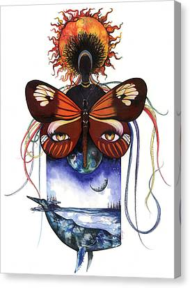 Mother Nature Canvas Print by Anthony Burks Sr