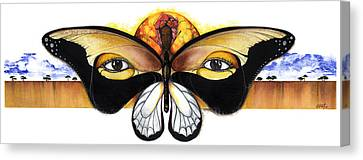 Mother Nature Vii Canvas Print by Anthony Burks Sr