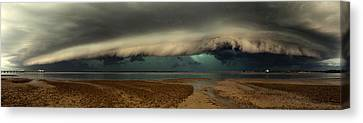Mother Natures Revenge Canvas Print by Mel Brackstone