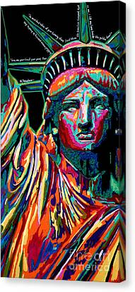 Mother Of Exiles Canvas Print