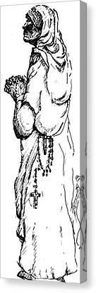 Mother Terasa Canvas Print by Dan Earle