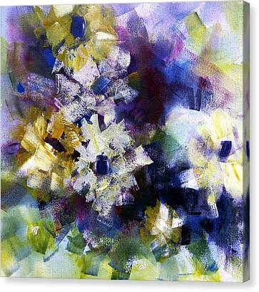 Canvas Print featuring the painting Mothers Day by Katie Black