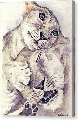 Mothers Love Canvas Print by Alban Dizdari