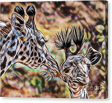Mothers Love Canvas Print by Marvin Blaine
