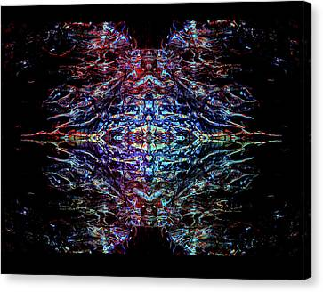 Mothership The Second Canvas Print