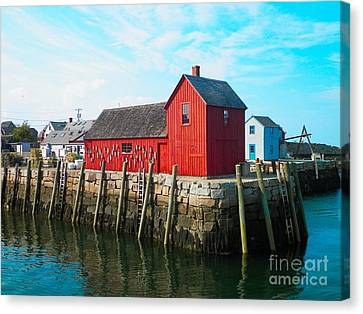 Motif #1 Canvas Print by Gina Sullivan