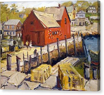 Motif 1 In Spring Canvas Print