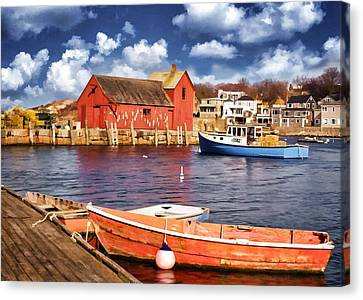 Canvas Print featuring the photograph Motif Number One by Jaki Miller
