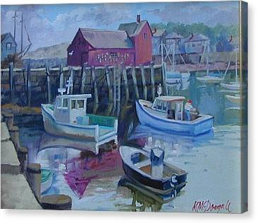 Motif Number One Canvas Print by Michael McDougall