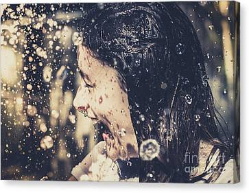 Motion In Emotion Canvas Print