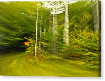 Abstact Landscapes Canvas Print - Motion In Time by James Steele