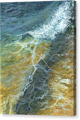 Canvas Print featuring the painting Motion Of The Ocean by Darice Machel McGuire
