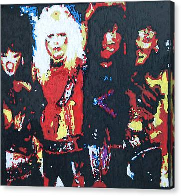 Motley Crue Without Sun Canvas Print by Grant Van Driest