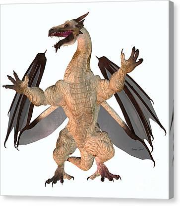 Motley Dragon Canvas Print