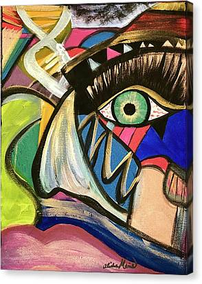 Motley Eye 3 Canvas Print
