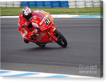 Moto Grand Prix 2015 Canvas Print by Blair Stuart