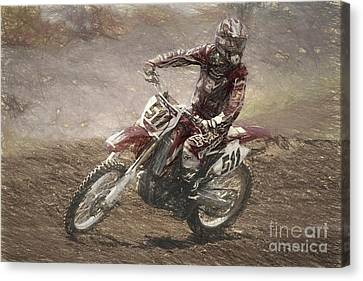 Canvas Print - Motocross by Cecil Fuselier