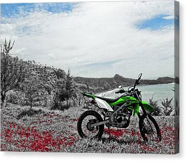 Canvas Print - Motocross by Wahyu Nugroho