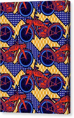 Motor Bike Canvas Print