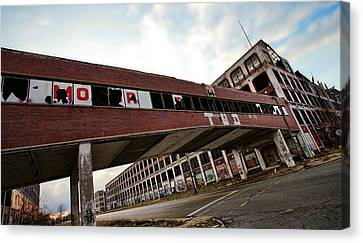 Motor City Industrial Park The Detroit Packard Plant Canvas Print by Gordon Dean II