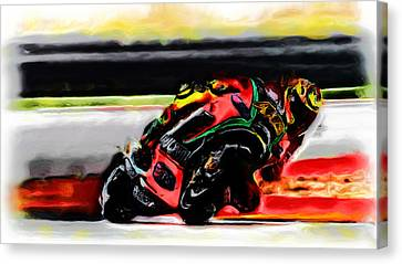 Motorcycle Racing 05a Canvas Print