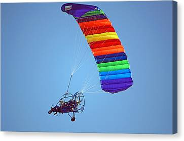 Motorized Parasail 2 Canvas Print