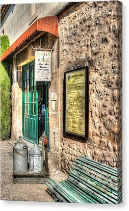 Moulin A Huile Mas Des Barres Provence France Canvas Print