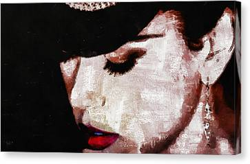 Moulin Rouge - Nicole Kidman Canvas Print
