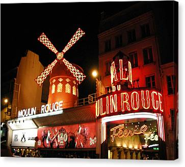 Moulin Rouge Paris Canvas Print