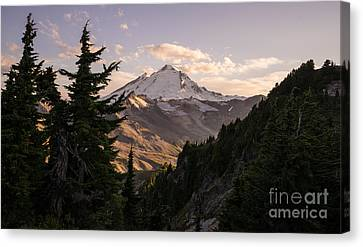 Mount Baker Beautiful Landscape Canvas Print by Mike Reid