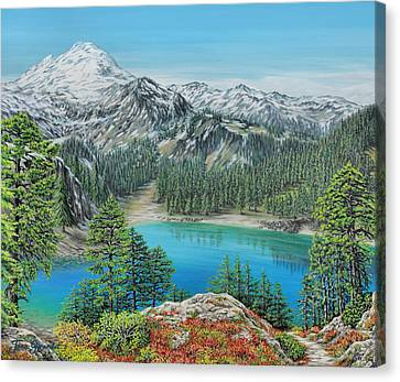 Mount Baker Wilderness Canvas Print