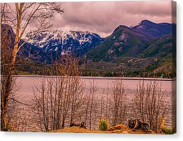 Mount Baldy From Point Park Canvas Print