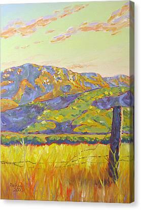 Mount Boney Canvas Print