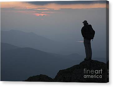 Mount Clay Sunset - White Mountains New Hampshire Usa Canvas Print