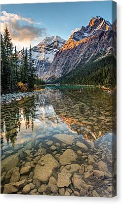 Mount Edith Cavell Sunrise Canvas Print