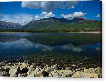 Mount Elbert Canvas Print by Tim Reaves