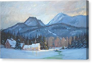 Mount Greylock Canvas Print by Len Stomski