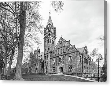 Mount Holyoke College Mary Lyon Hall Canvas Print by University Icons
