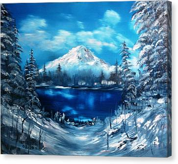 Mount Hood - Opus 2 Canvas Print