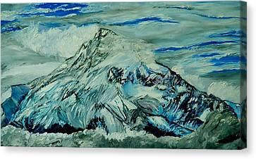 Mount Hood  Canvas Print by Gregory Allen Page