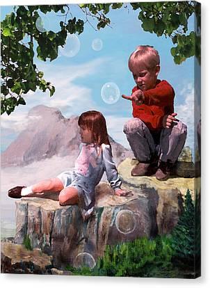 Mount Innocence Canvas Print by Steve Karol