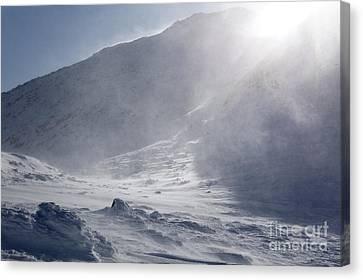 Mount John Quincy Adams - White Mountains Nh Canvas Print by Erin Paul Donovan