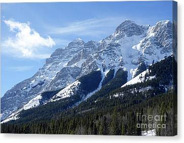 Mount Kidd Canvas Print