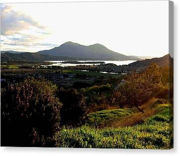 Canvas Print featuring the photograph Mount Konocti by Will Borden