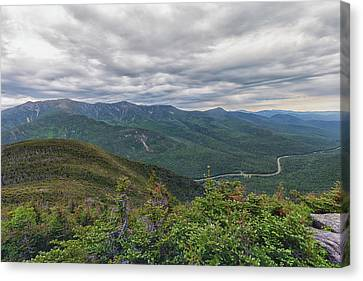 Mount Lafayette And Franconia Notch Parkway Canvas Print