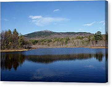 Mount Monadnock Canvas Print by Lois Lepisto