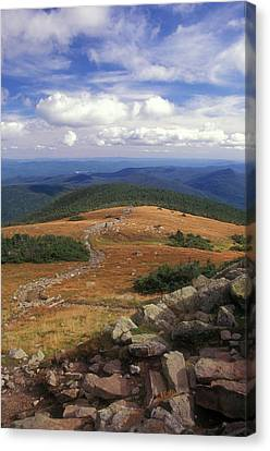 Mount Moosilauke Summit Canvas Print by John Burk