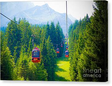 Mount Pilatus Canvas Print by Anna Serebryanik